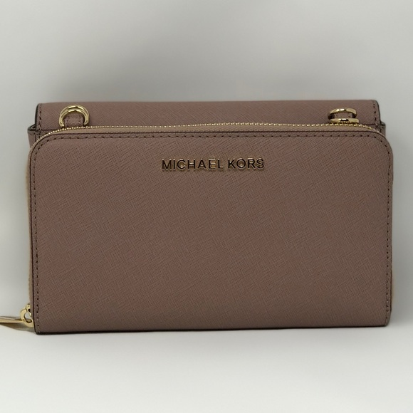 0efd6bbeb89f Michael Kors Tina 2 in 1 Handbag   Wallet Clutch NWT